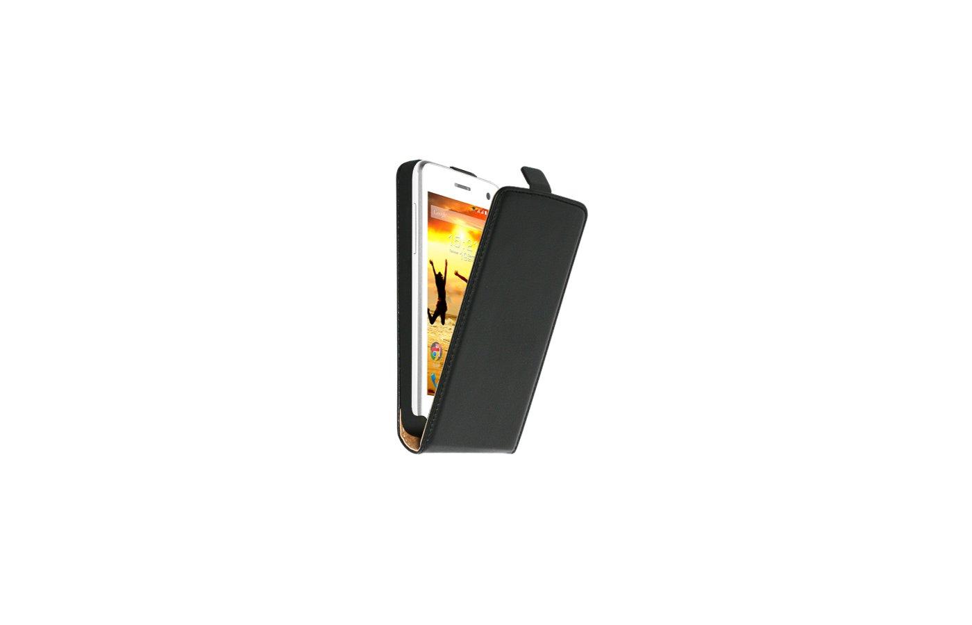 Чехол Nobby Comfort для FLY IQ4490i Era Nano 10 PU черный