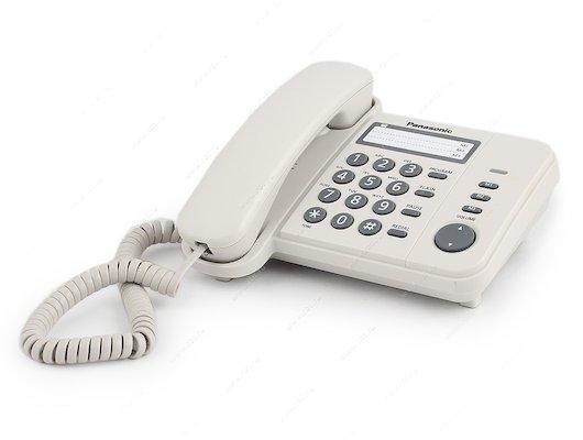 Проводной телефон PANASONIC KX-TS 2352RUW