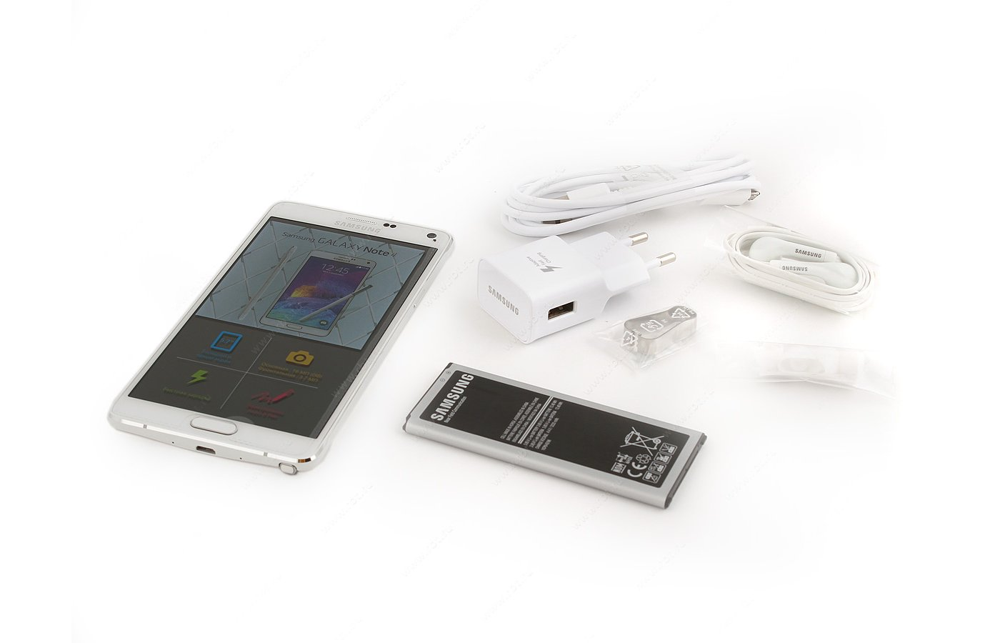 Смартфон Samsung SM-N910 Galaxy Note 4 white