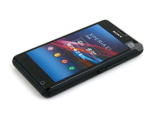 Смартфон SONY D2105 Xperia E1 dual black