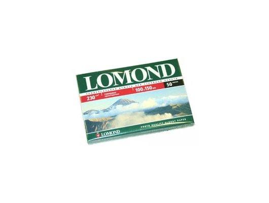 Фотобумага LOMOND 0102035 глянцевая односторонняя 10x15 230 г/м2 50 листов