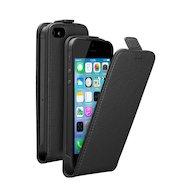 Фото Чехол Deppa Flip Cover для iPhone 5/5S/SE магнит черный (81003)