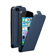Фото Чехол Deppa Flip Cover для iPhone 5/5S/SE синий магнит (81020)