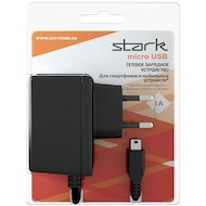 Фото Зарядное устройство STARK СЗУ microUSB 1А черный