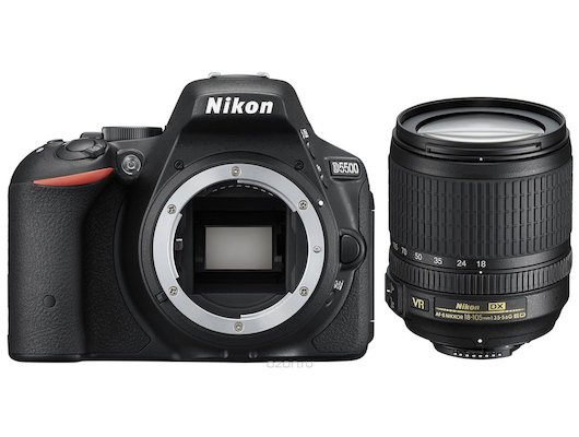Фотоаппарат зеркальный Nikon D5500 18-105VR black
