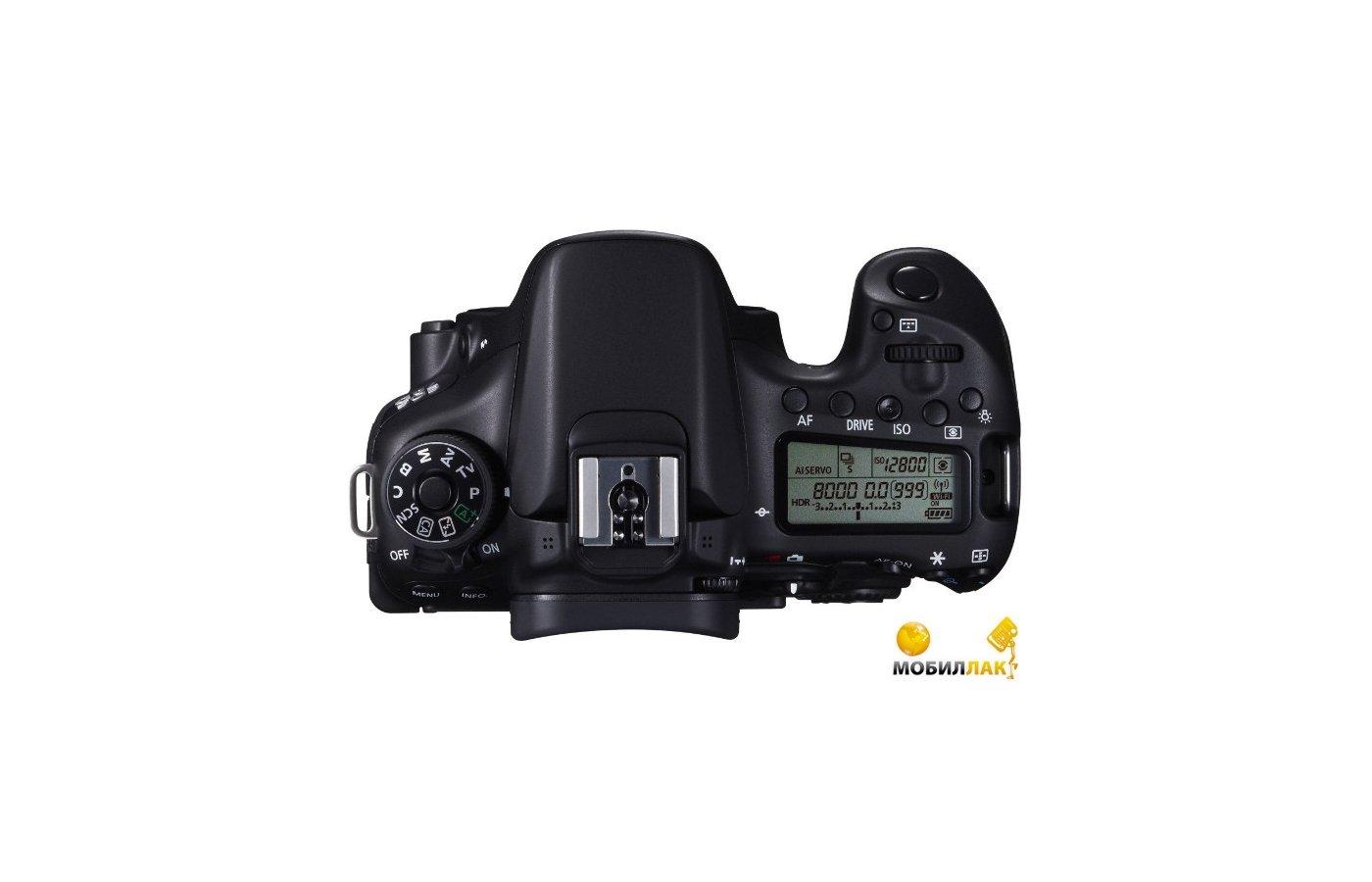 Фотоаппарат зеркальный Canon EOS 70D Body
