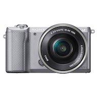 Фотоаппарат со сменной оптикой SONY Alpha ILCE-A5000LS 16-50mm silver
