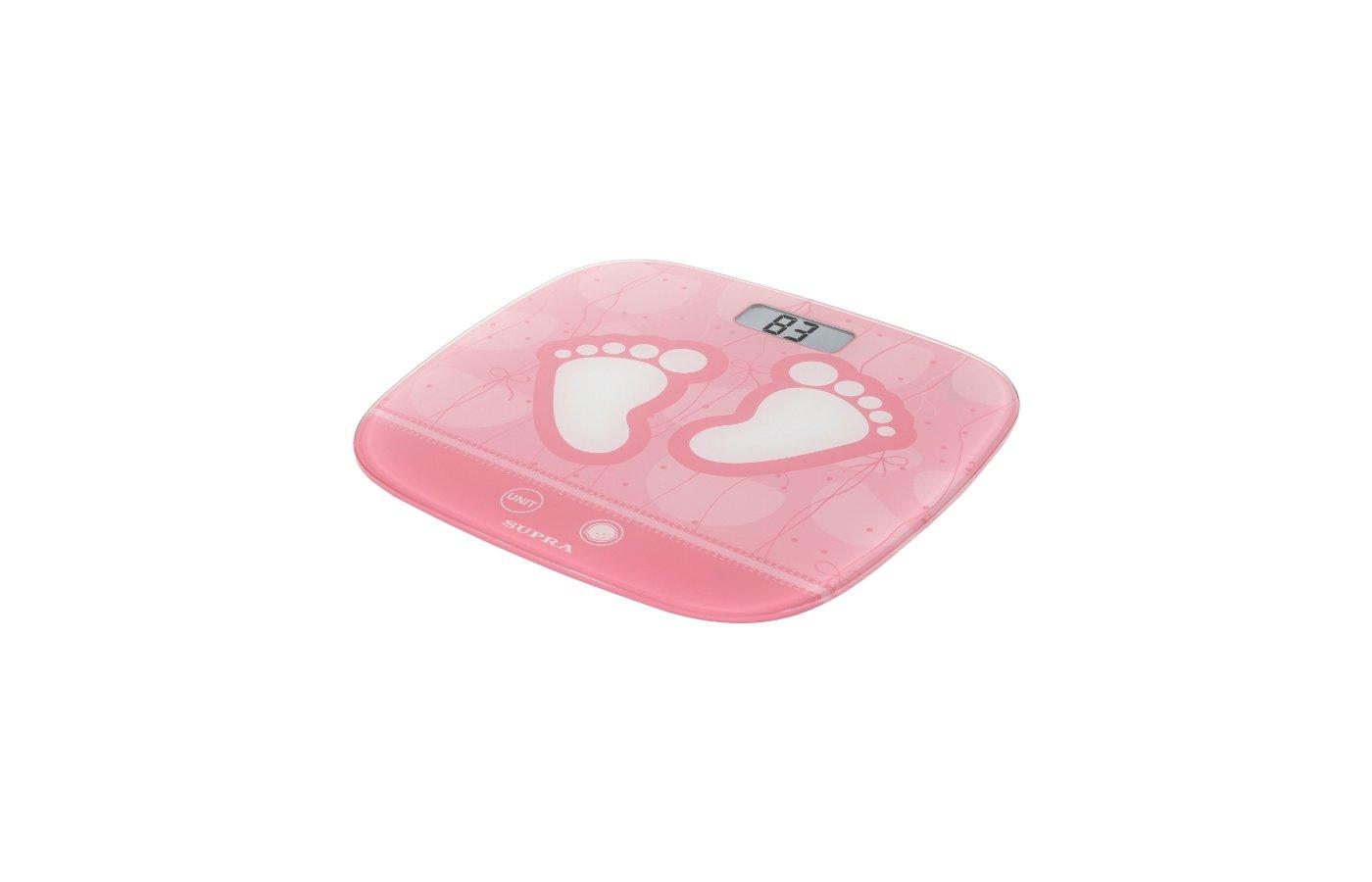 Весы напольные SUPRA BSS-6055 pink