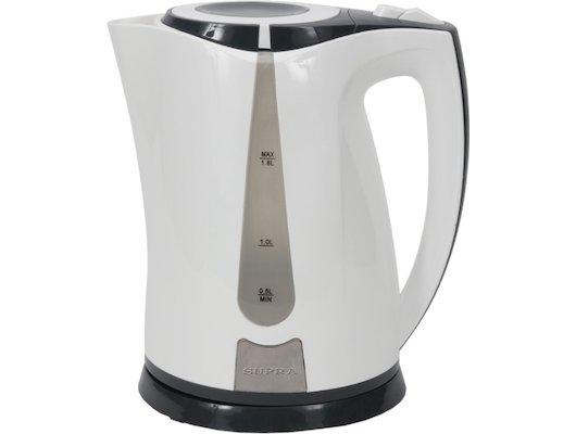 Чайник электрический  SUPRA KES-1822 white/black