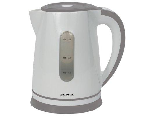 Чайник электрический  SUPRA KES-1822 white/grey
