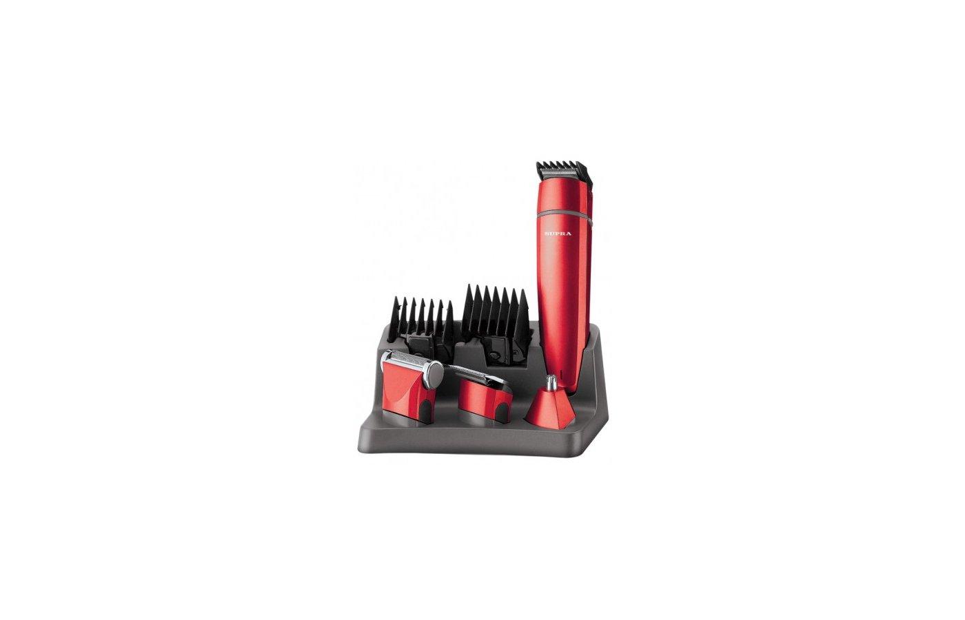 Машинка для стрижки волос SUPRA RS-406 red