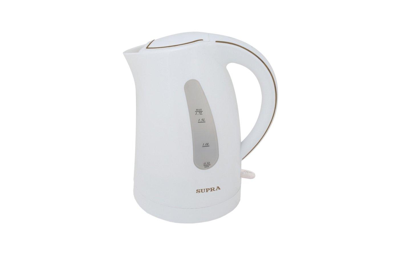 Чайник электрический  SUPRA KES-1721 white