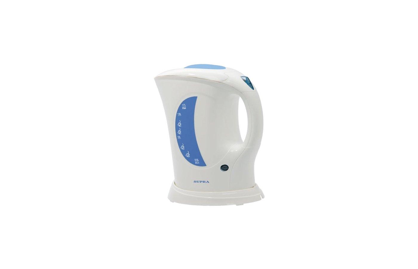 Чайник электрический  SUPRA KES-1723 white/grey