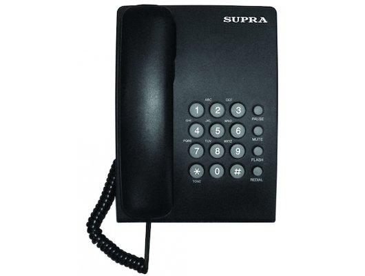 Проводной телефон SUPRA STL-330 black