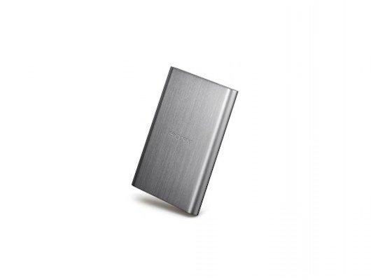 Внешний жесткий диск SONY HD-E1S 1TB USB 3.0 серебристый