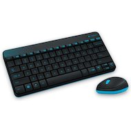 Клавиатура + мышь Logitech wireless combo mk240 black usb