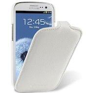 Фото Чехол Melkco для Samsung Galaxy S3 (GT-i9300/9301) кожа белый