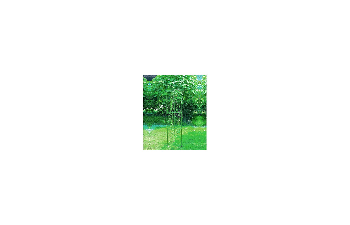 садовые товары GREEN APPLE GTCY-1 Опора для томатов  с сеткой 0.9*1.2м