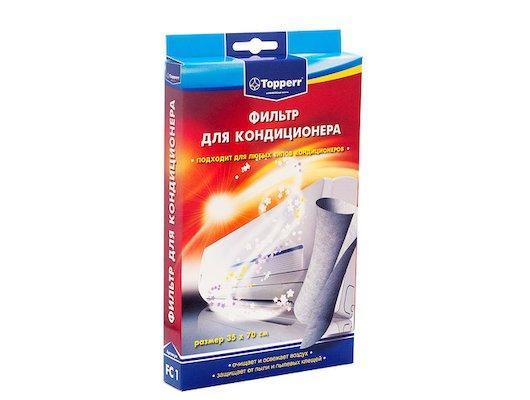 Аксессуары к климатической технике TOPPERR 1123 FC1 фильтр для кондиционеров универсальный