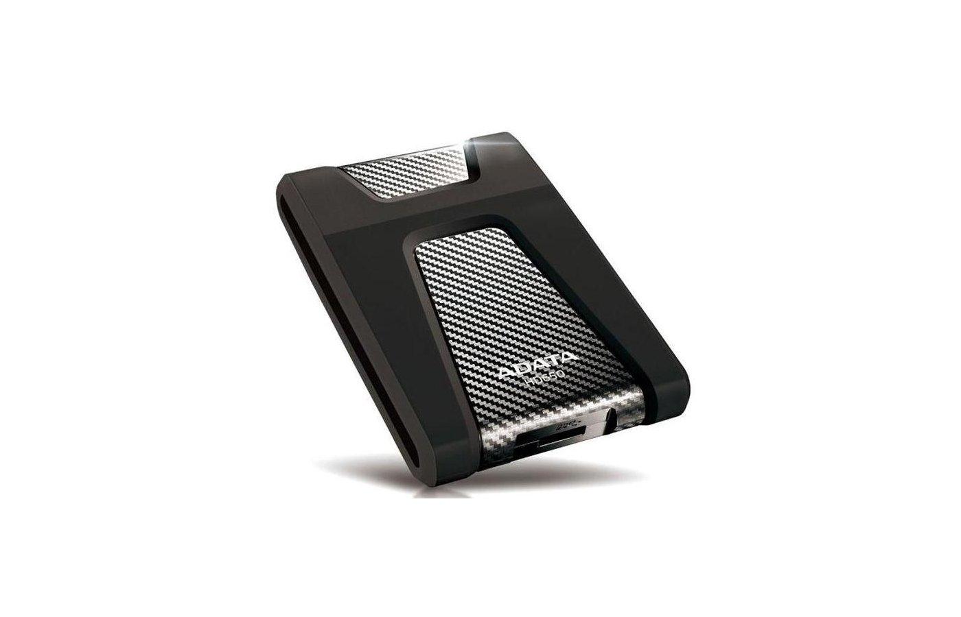 Внешний жесткий диск A-Data USB 3.0 2TB DashDrive HD650 Black