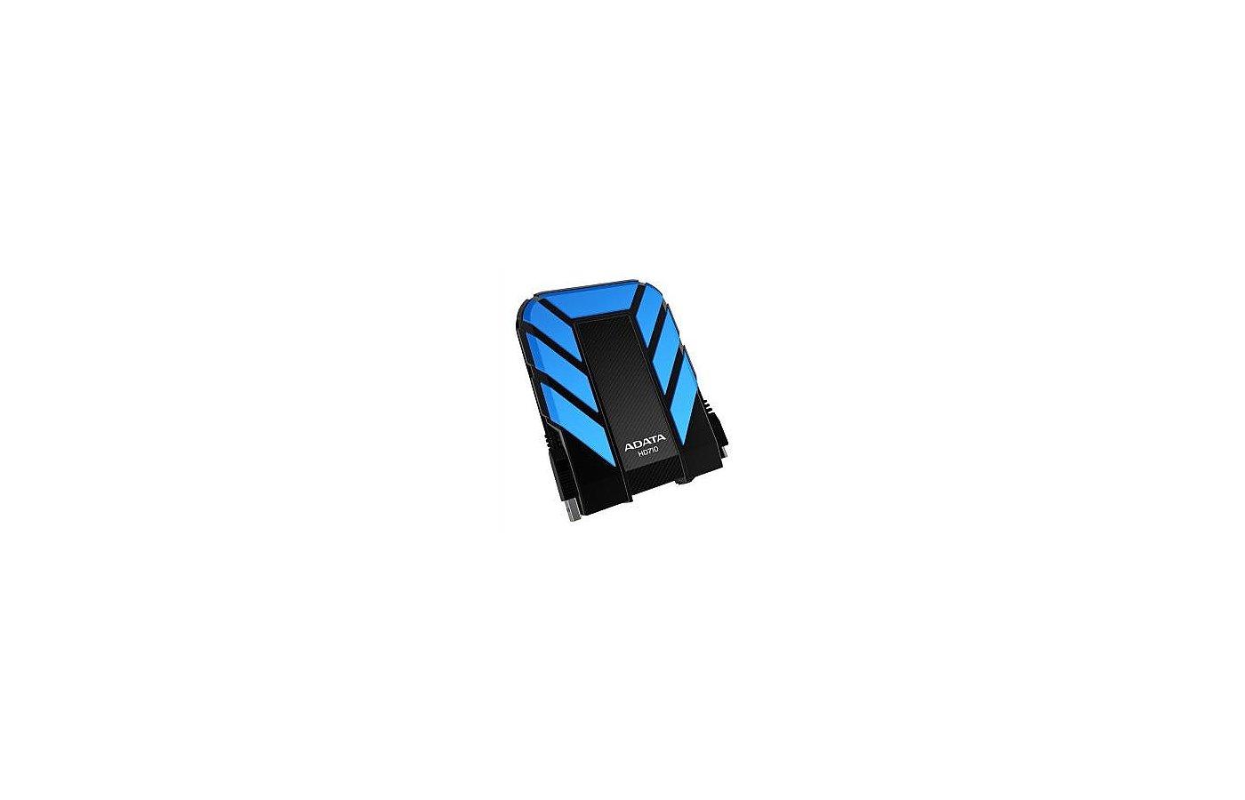 Внешний жесткий диск A-Data USB 3.0 500Gb DashDrive HD710 Blue