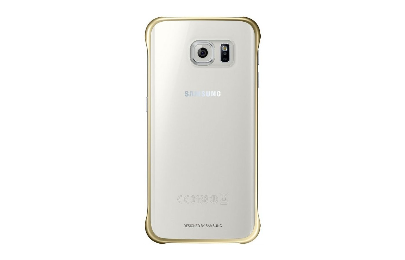 Чехол Samsung Protective Cover для Galaxy S6 Edge (SM-G925) (EF-QG925BFEGRU) gold