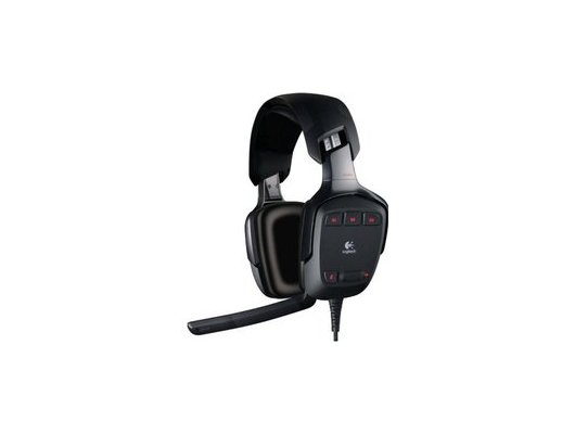 Игровые наушники проводные Logitech G35 Gaming Surround Sound
