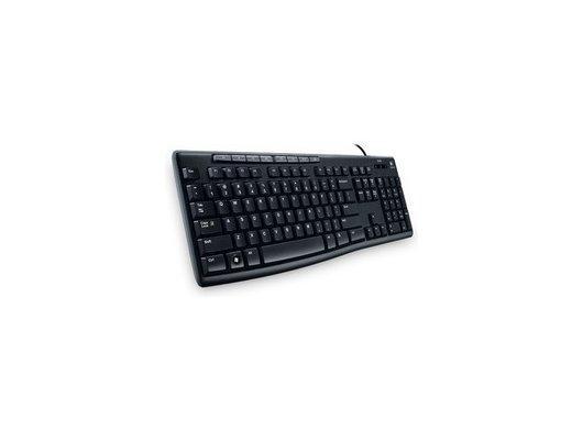 Клавиатура проводная Logitech K200 (920-002779) Media