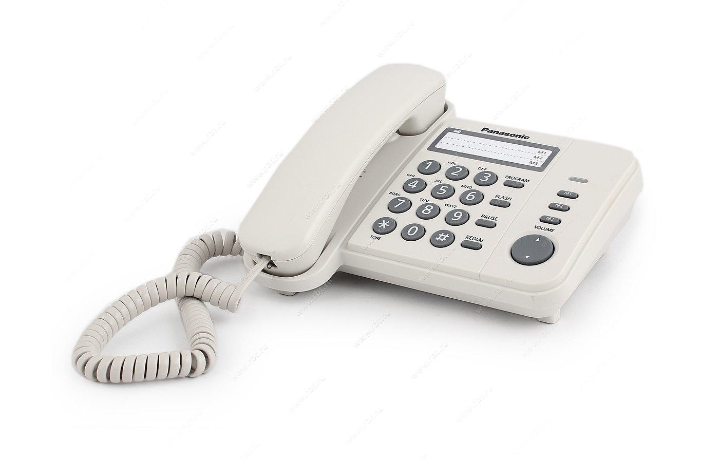 Проводной телефон PANASONIC KX-TS 2352RUJ
