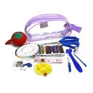Фото Аксессуары для швейных машин 308-002 Набор швейных принадлежностей дорожный 11пр. S-1 не используем