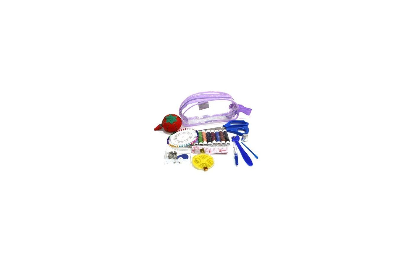 Аксессуары для швейных машин 308-002 Набор швейных принадлежностей дорожный 11пр. S-1 не используем