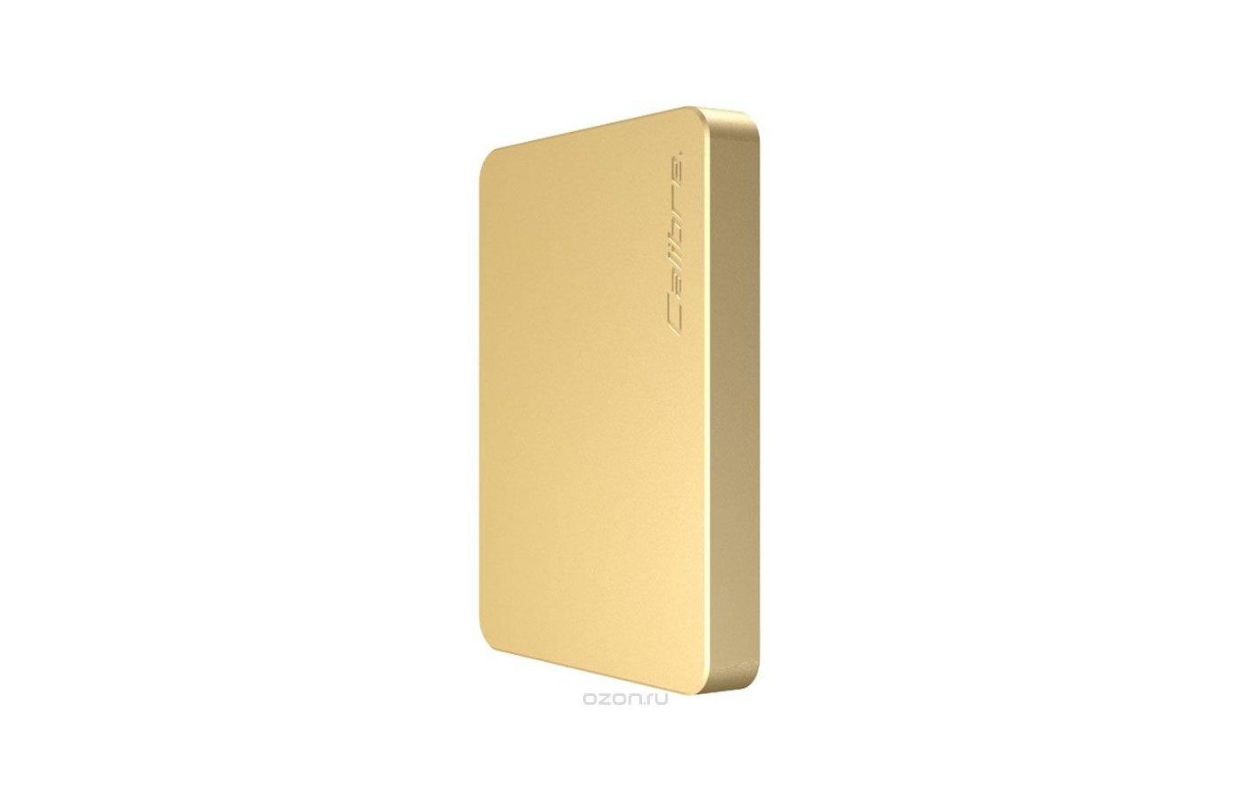 Портативный аккумулятор Calibre ULTRA GO NANO GOLD 2500 mAh FUNA025G1