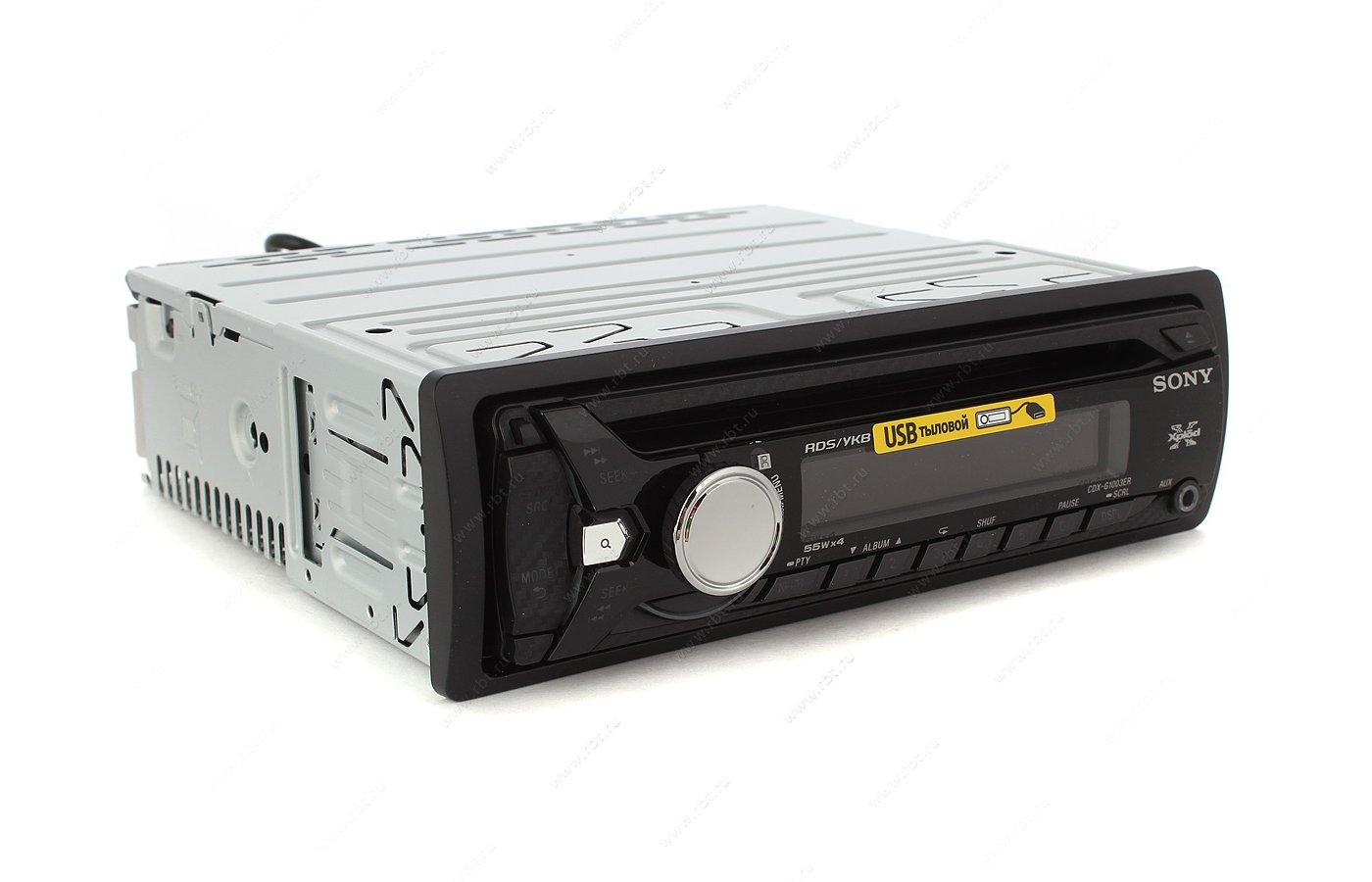 Автомагнитола SONY CDX-G1003ER