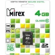 Карта памяти Mirex SDHC 4Gb Class 10