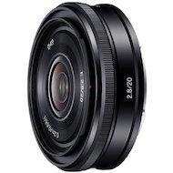 Фото Объектив Sony 20mm f/2.8 для камер NEX (SEL20F28.AE)