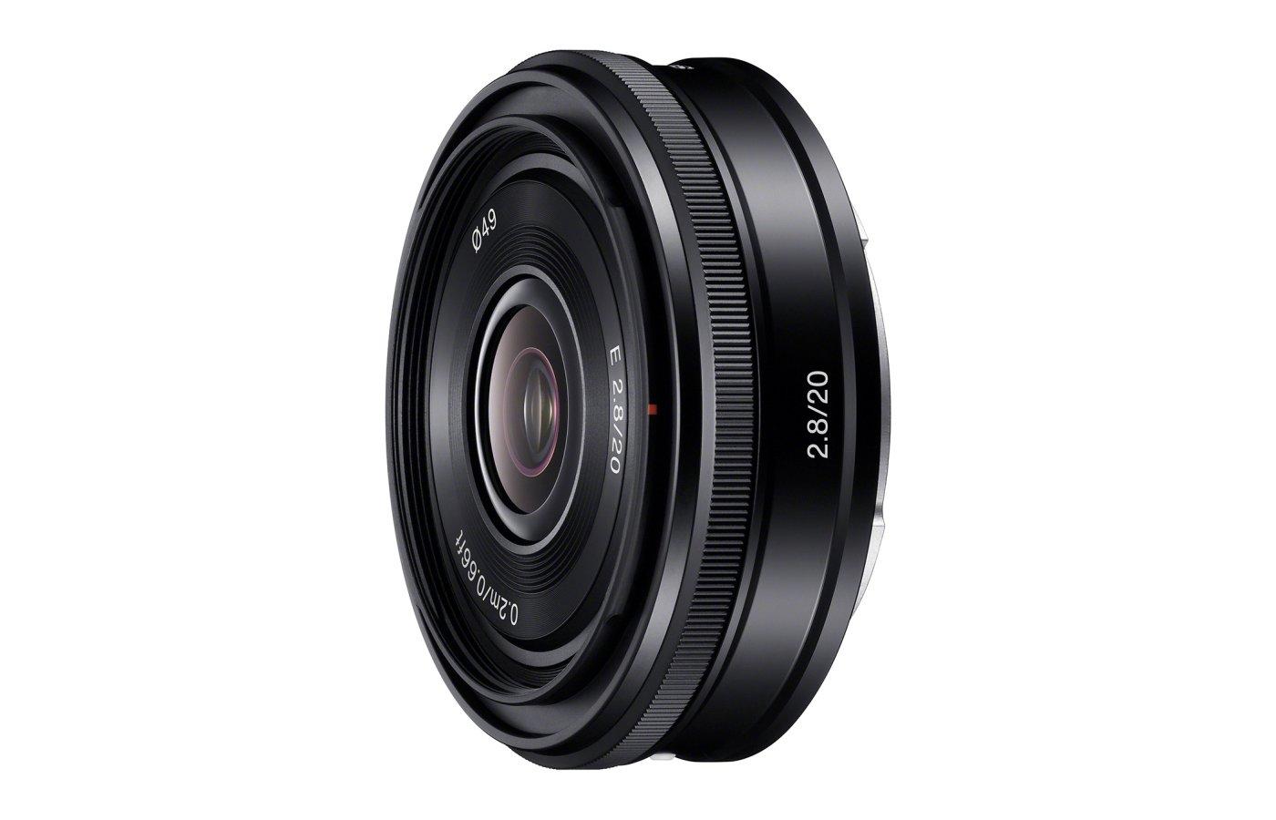 Объектив Sony 20mm f/2.8 для камер NEX (SEL20F28.AE)