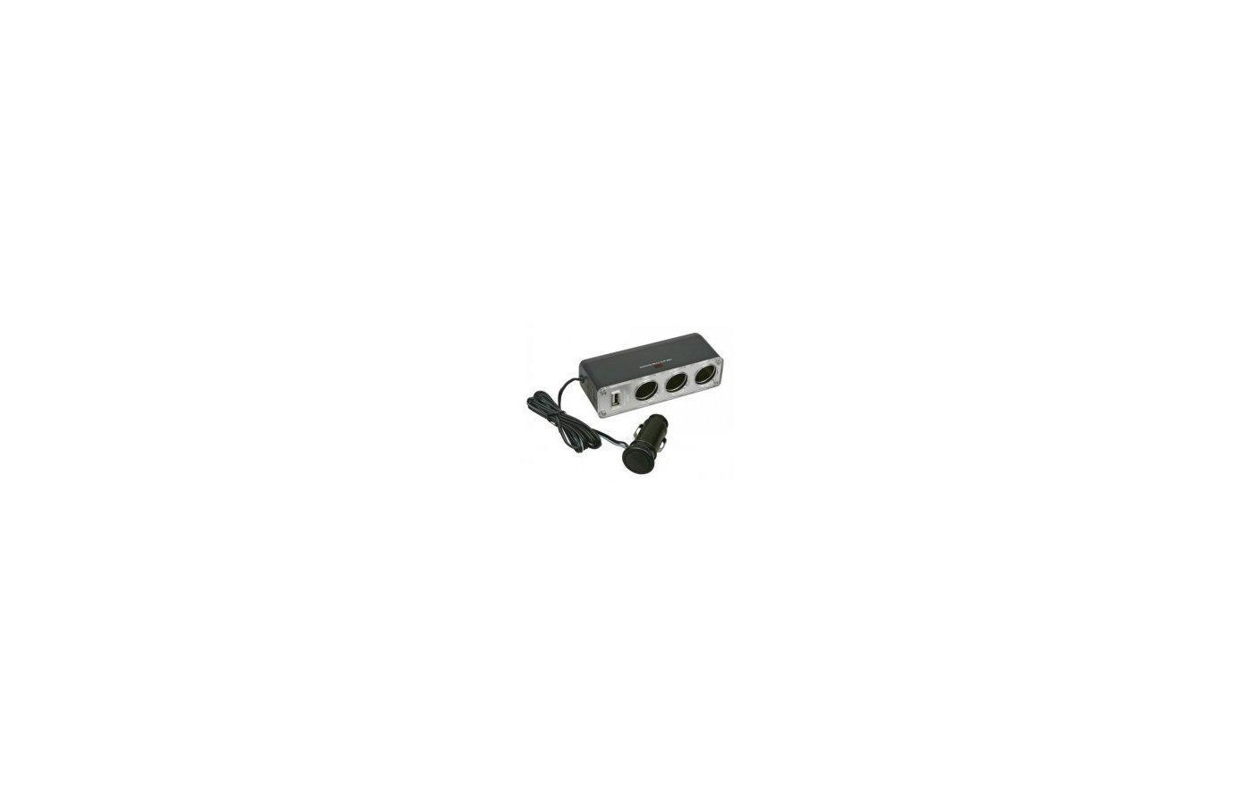 Разветвитель  AVS CS-313 U ( JL403V)+USB 3 в 1 с проводом