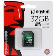 Фото Карта памяти Kingston SDHC 32Gb Class 10 (SD10V/32GB)