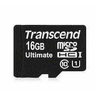 Фото Карта памяти Transcend microSDHC 16Gb Class 10 (TS16GUSDCU1)