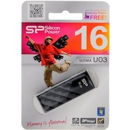 Фото Флеш-диск Silicon Power 16Gb Ultima U03 черный SP016GBUF2U03V1K