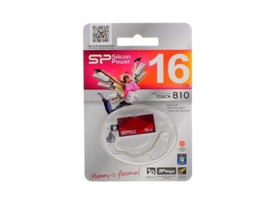 Флеш-диск Silicon Power 16Gb Touch 810 SP016GBUF2810V1B USB2.0 синий