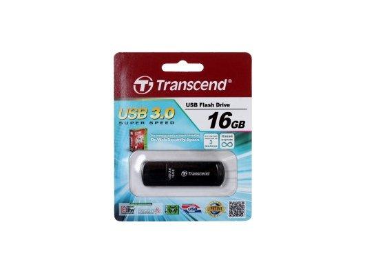 Флеш-диск USB 3.0 Transcend 16Gb Jetflash 700 TS16GJF700 черный