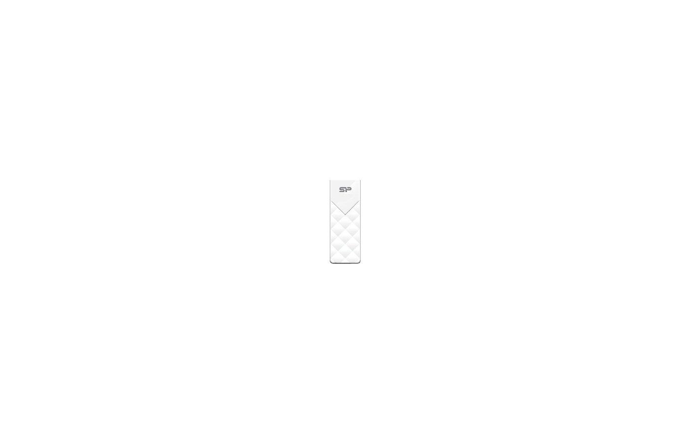 Флеш-диск Silicon Power 16Gb Ultima U03 белый SP016GBUF2U03V1W