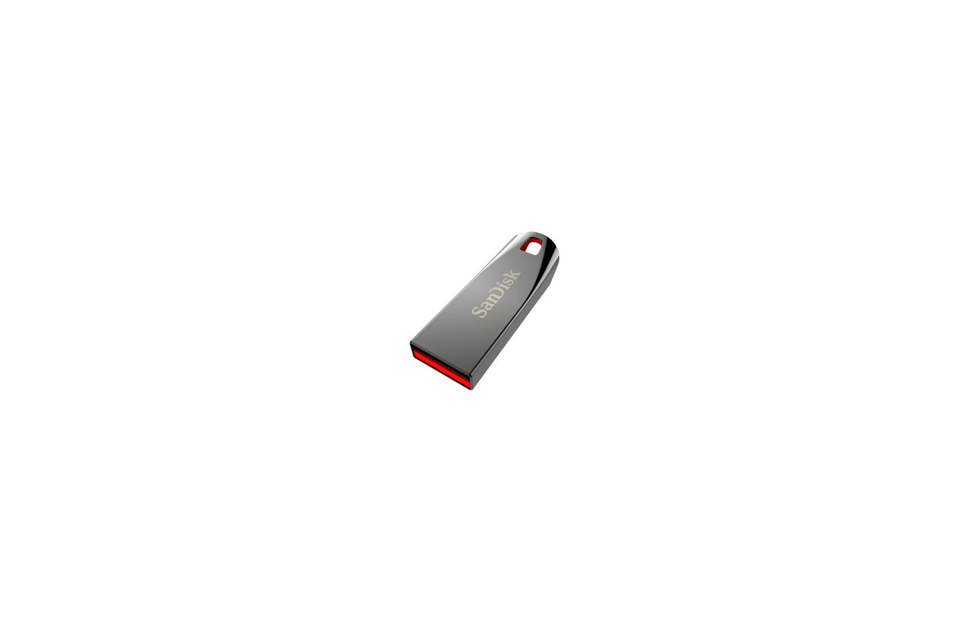 Флеш-диск USB 2.0 Sandisk 64Gb Cruzer Force SDCZ71-064G-B35 серебристый