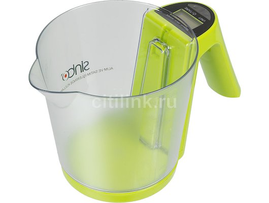 Весы кухонные SINBO SKS-4516 зеленый