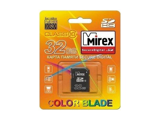 Карта памяти Mirex SDHC 32Gb Class 10