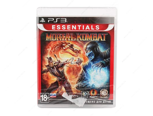 Mortal Kombat (Essentials) (с поддержкой 3D) PS3 русская документация