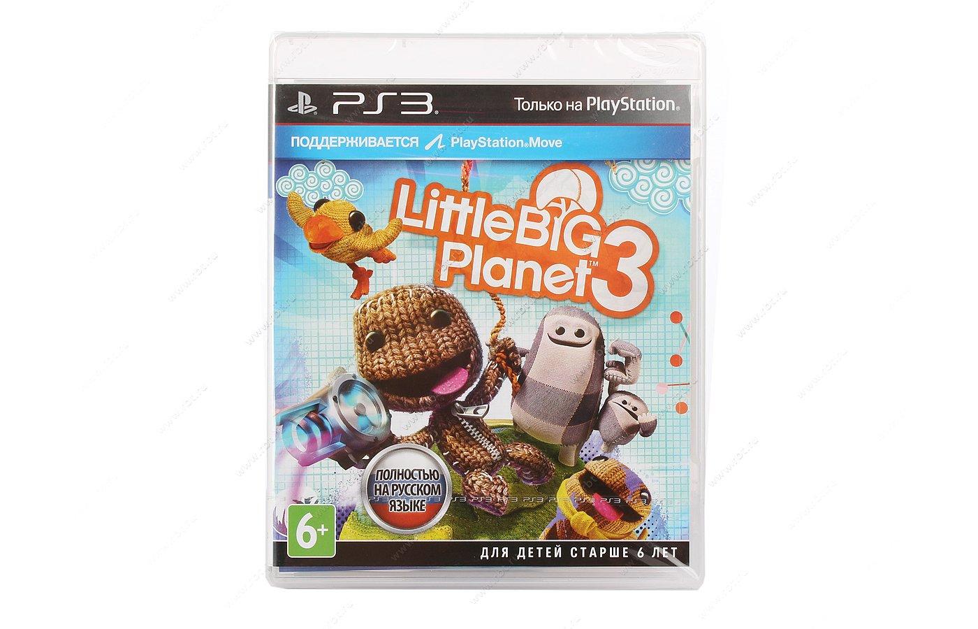 LittleBigPlanet 3 (PS3 русская версия)