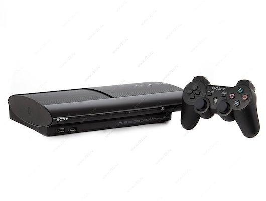 SONY PS3 Super Slim 12 Gb Black Rus
