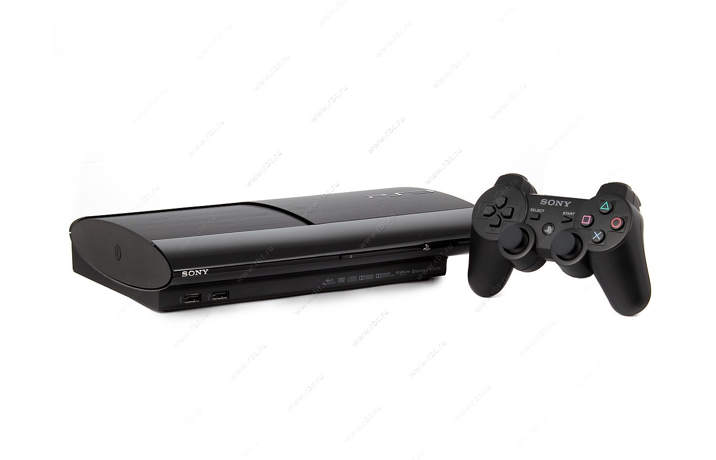 SONY PS3 Super Slim 12 Gb Black Rus